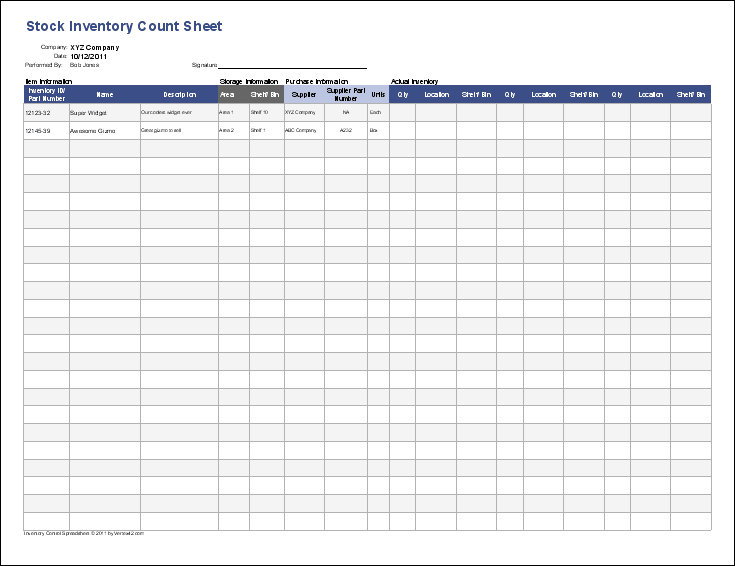 Inventory Control Template Stock Spreadsheet Pictures